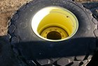 John Deere 28Lx26 low profile rear wheels & tires