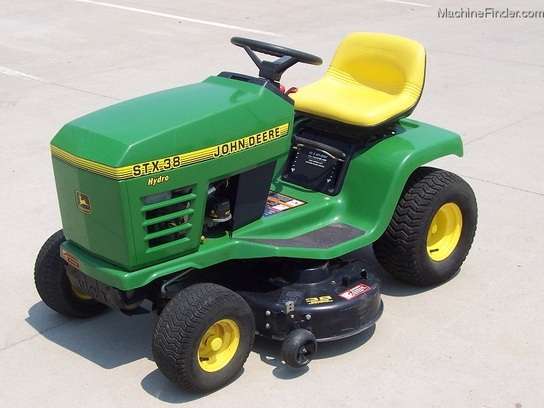 John Deere Stx 38 : Fast design used commercial landscaping equipment for sale