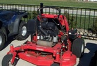 "2009 Gravely ProStance 2352 stand-on mower, 23hp Kawasaki, 52"" mower deck."