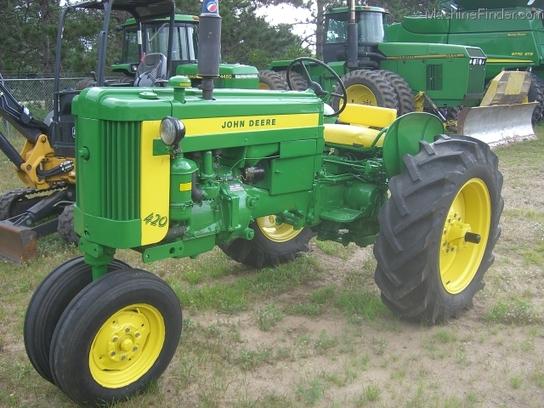 1958 John Deere 420 Tractors Utility 40 100hp John Deere Machinefinder