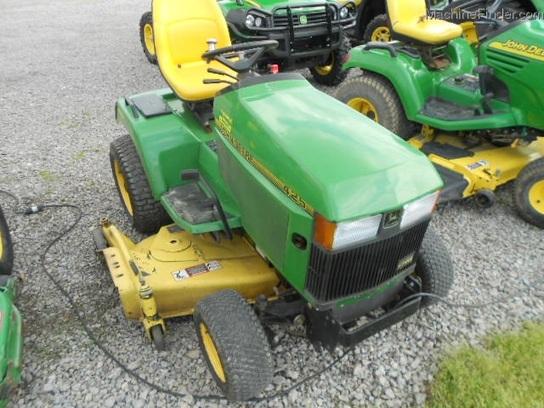 John Deere 425 Tractor Parts : John deere lawn garden and commercial mowing