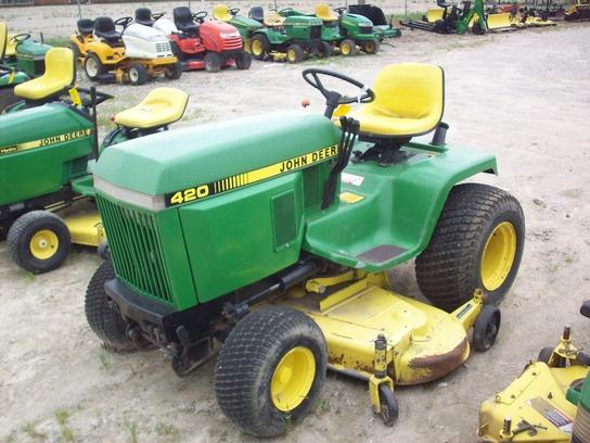 John Deere 420 Lawn Garden Tractors John Deere Machinefinder