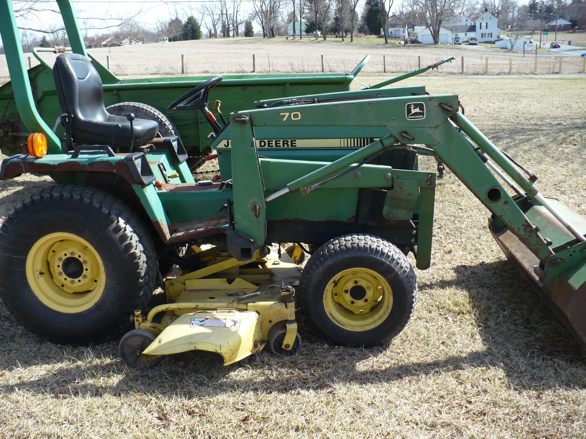 1989 john deere 755 tractors compact 1 40hp john deere machinefinder. Black Bedroom Furniture Sets. Home Design Ideas