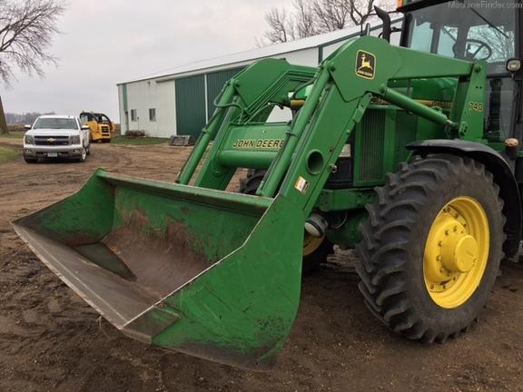 John Deere 740 Tractor : John deere tractor loaders