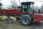 2008 Hesston 9365 with 9180 advanced header