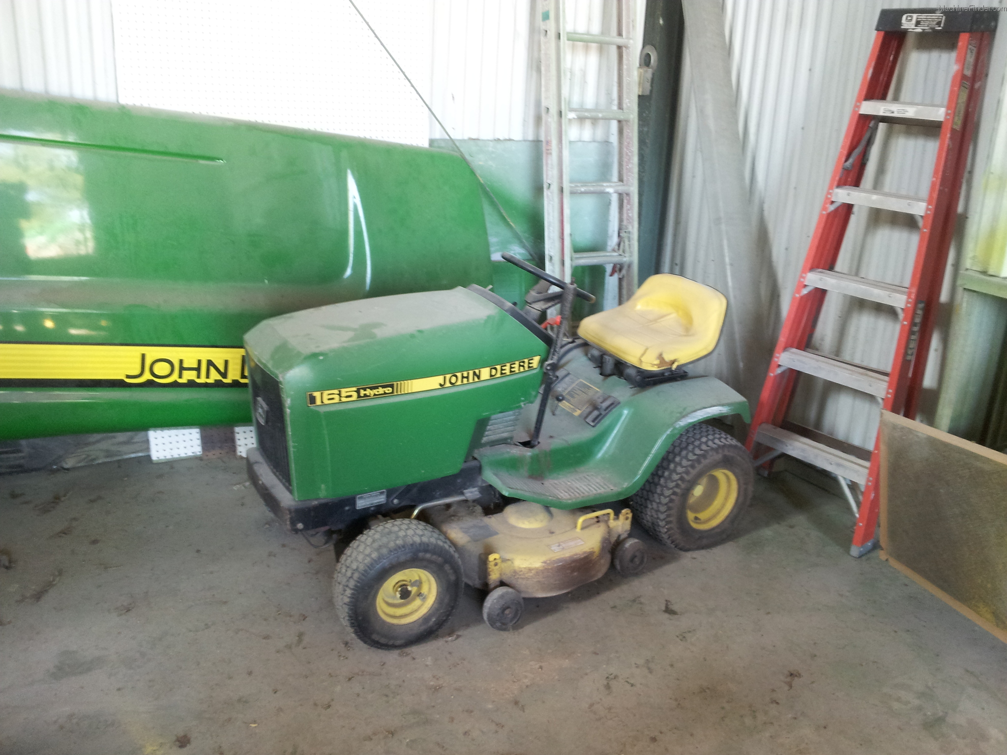 John Deere Hydro 165 Manual http://www.machinefinder.com/ww/en-US/machine/2147478