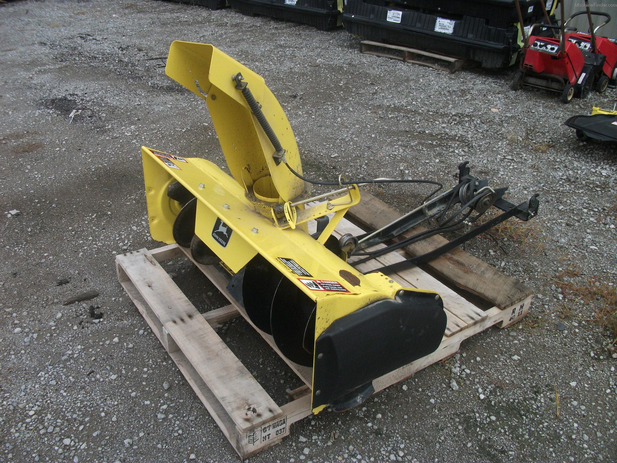 John Deere Snow Thrower Parts : Tweet