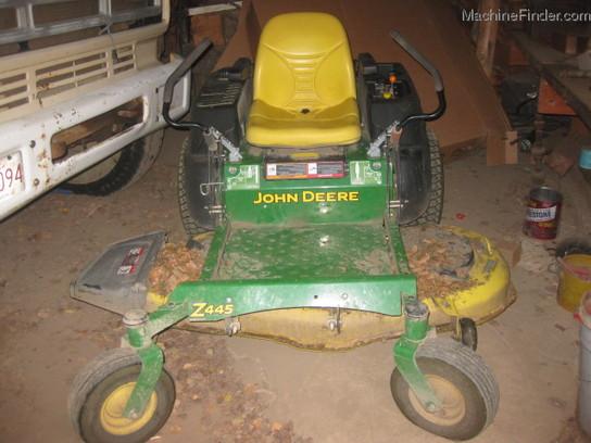 John Deere 4445 : John deere z lawn garden and commercial mowing