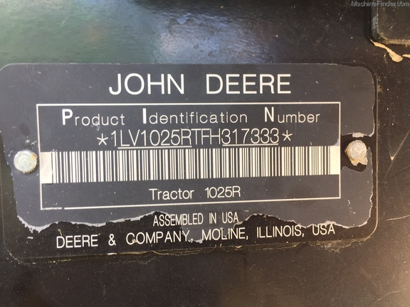 John Deere 1025R
