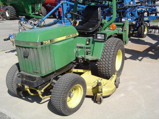 1990 john deere 755 tractors compact 1 40hp john deere machinefinder. Black Bedroom Furniture Sets. Home Design Ideas