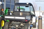 2009 John Deere 620i XUV Silver Mist Color, with Deluxe Cab Frame