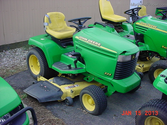 2001 john deere 335 lawn garden and commercial mowing john deere machinefinder for Bairs lawn and garden