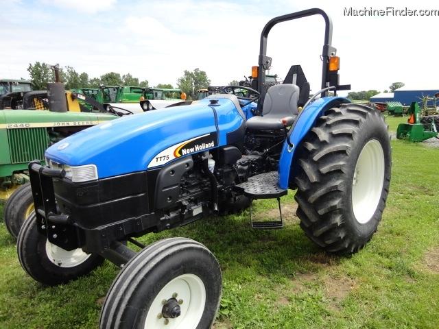 New Holland Compact Tractors Parts : New holland tt a tractors compact hp john