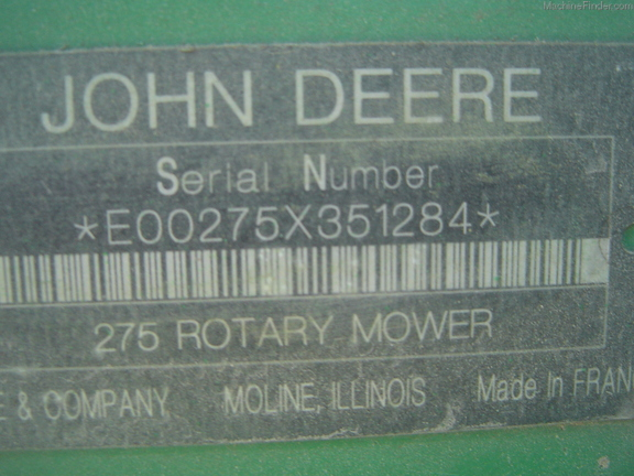 John Deere 275