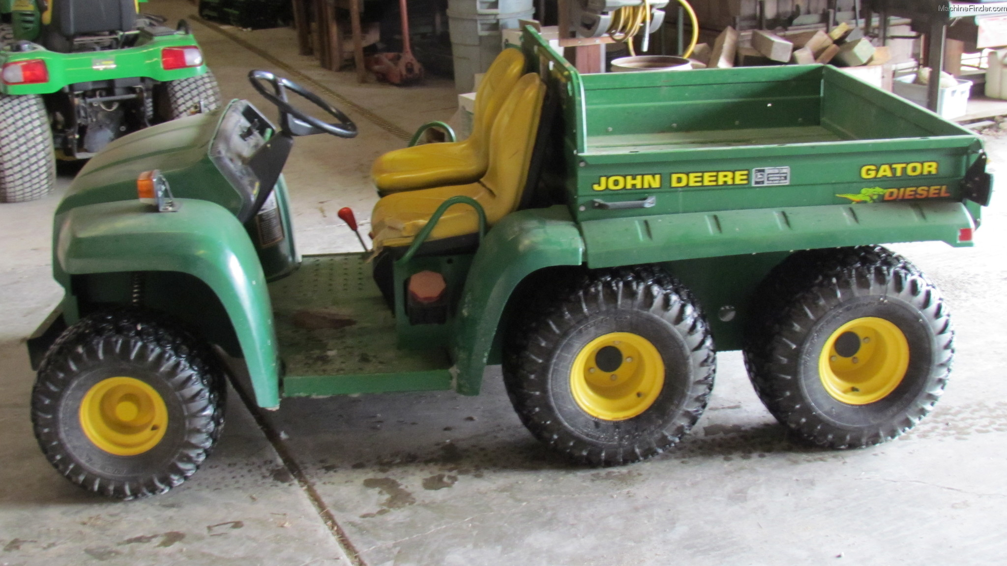 1997 john deere 6x4 diesel gator atvs gators john. Black Bedroom Furniture Sets. Home Design Ideas