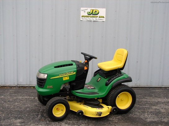 John Deere L120 Hydrostatic Transmission : John deere l lawn tractor transmission car interior