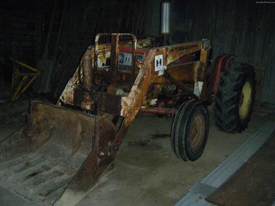 International Harvester 444 Tractor Parts : International harvester tractors utility