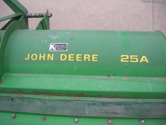 John Deere 25A - Flail Mowers - Reese, MI