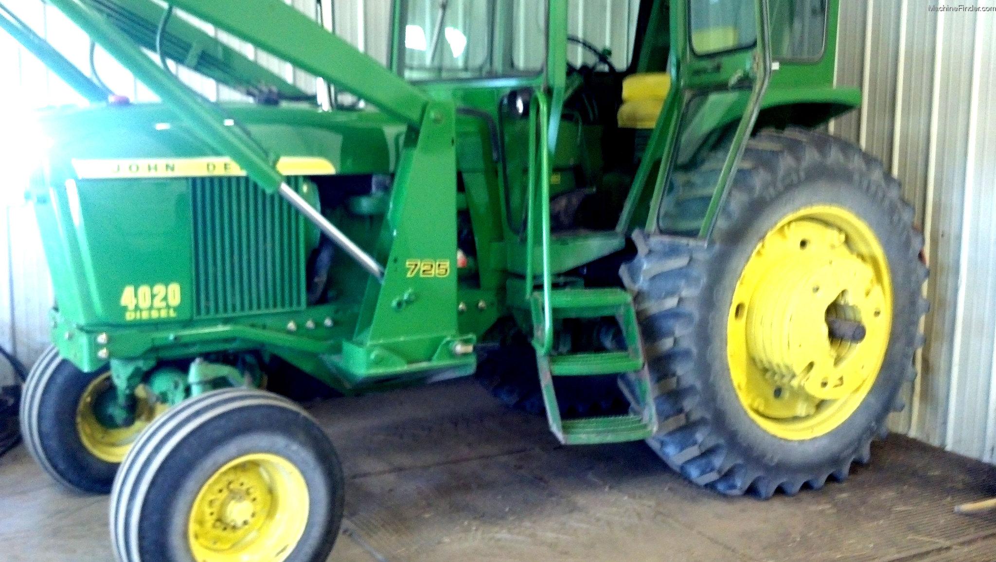 1972 John Deere 4020 Tractors - Row Crop   100hp