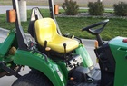 2004 John Deere 2210, turf tires, 210 Loader, 62C mower