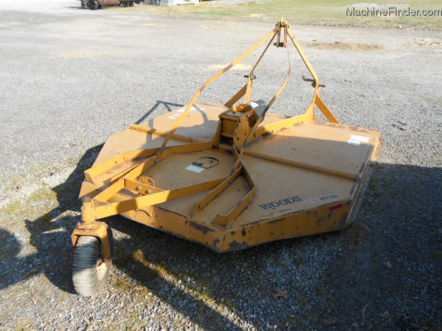 1999 Woods Xt184 Rotary Cutters Flail Mowers Shredders