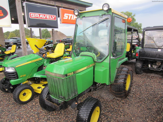 1987 john deere 755 tractors compact 1 40hp john deere machinefinder. Black Bedroom Furniture Sets. Home Design Ideas