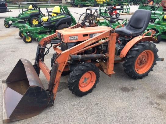 Kubota Tractor Hydraulic Blade : Kubota b tractor loader case hydraulic tiller rear