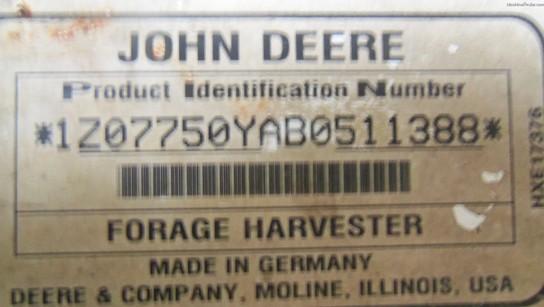 2011 John Deere 7750