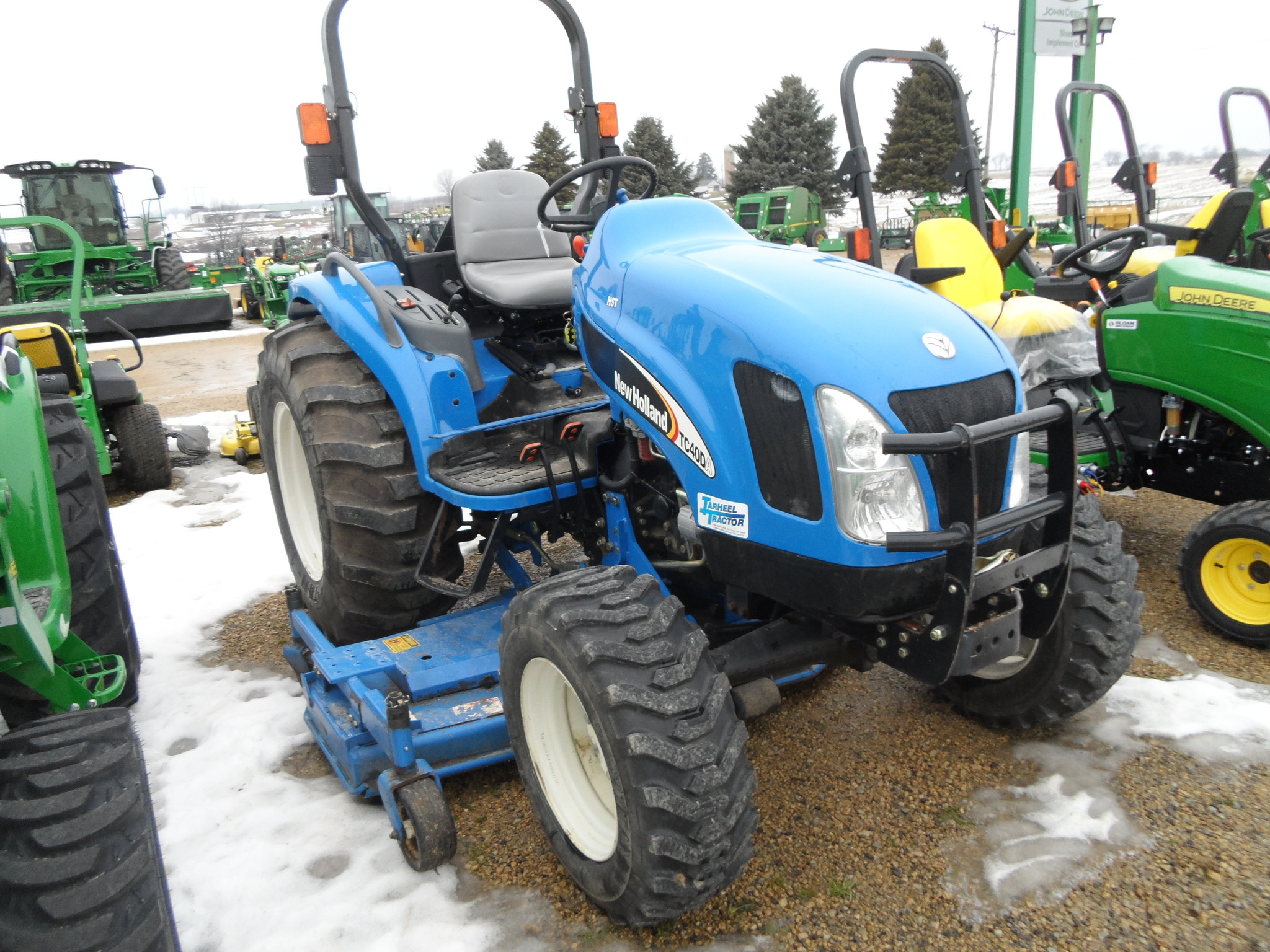 New Holland Compact Utility Tractor : New holland tc da compact utility tractors for sale