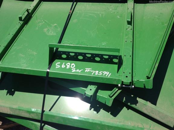 John Deere OEM S680 tank extension