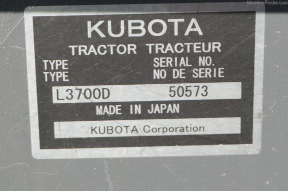 Kubota L3700