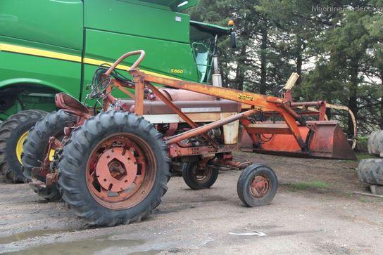 1960 International Tractor : International harvester ihc propane tractor