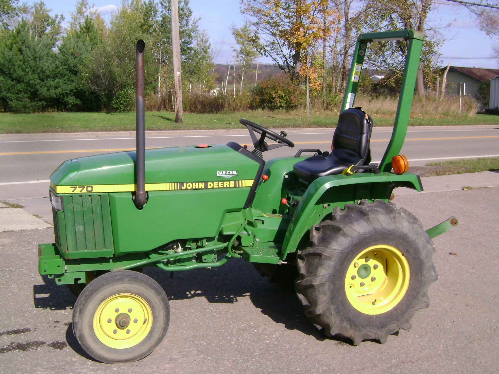 John Deere Tractor Backhoe Parts : John deere tractor series