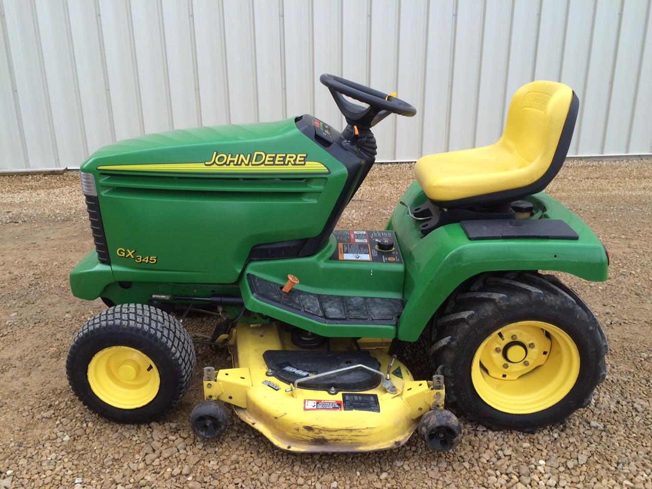 John Deere GX345 Lawn & Garden Tractors for Sale | [53547]