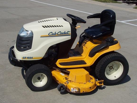 John Deere Utv >> 2007 Cub Cadet GT1554 - Lawn & Garden Tractors - John ...