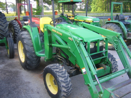 Griffith Tractor Seats : John deere tractors compact hp