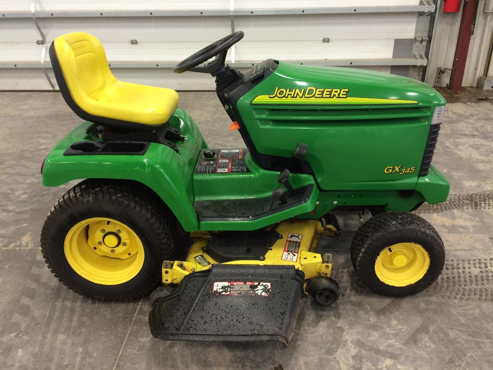 John Deere Gx345 Lawn Garden Tractors For Sale 58564