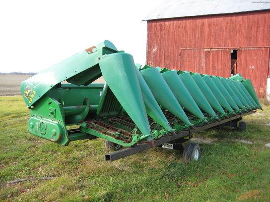 Corn Head Deck Plates : John deere corn and row crop headers