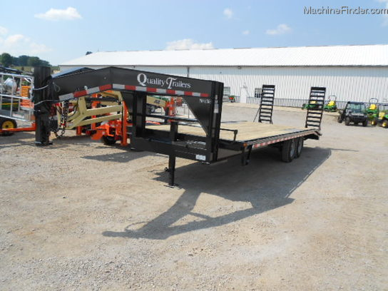2012 Other QUALITY PRO GRADE 24ft GOOSE NECK TRAILER 4ft DOVE