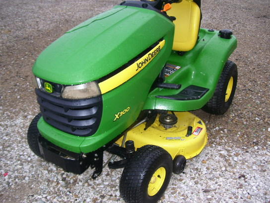 2008 John Deere X300 Lawn Amp Garden And Commercial Mowing