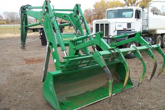 John Deere 740 Tractor : John deere classic tractor loaders