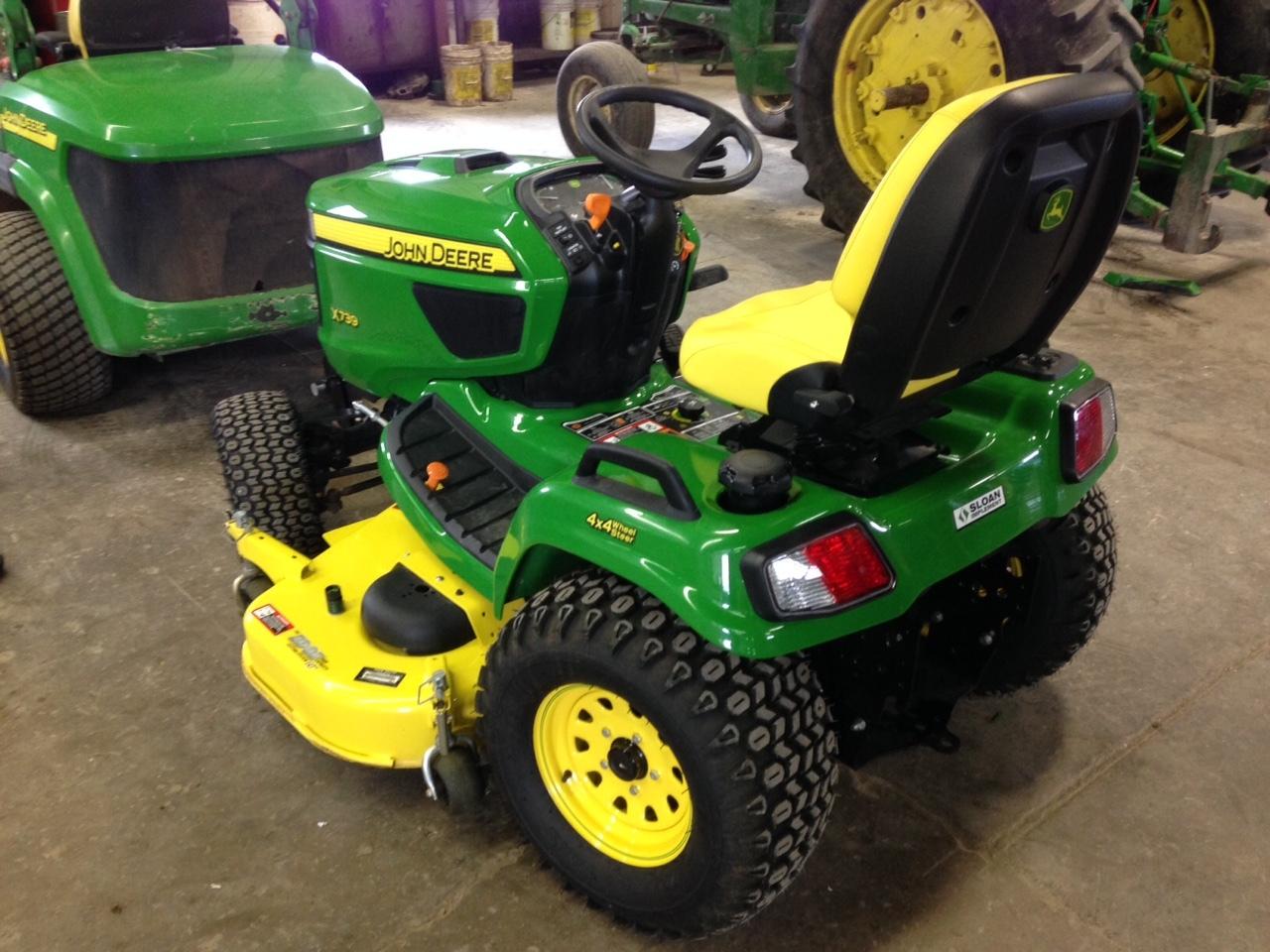John Deere X739 Lawn Garden Tractors For Sale 47494