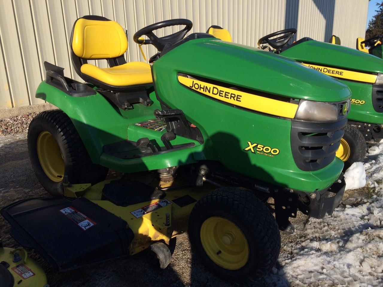 John Deere X500 Lawn Garden Tractors For Sale 53094