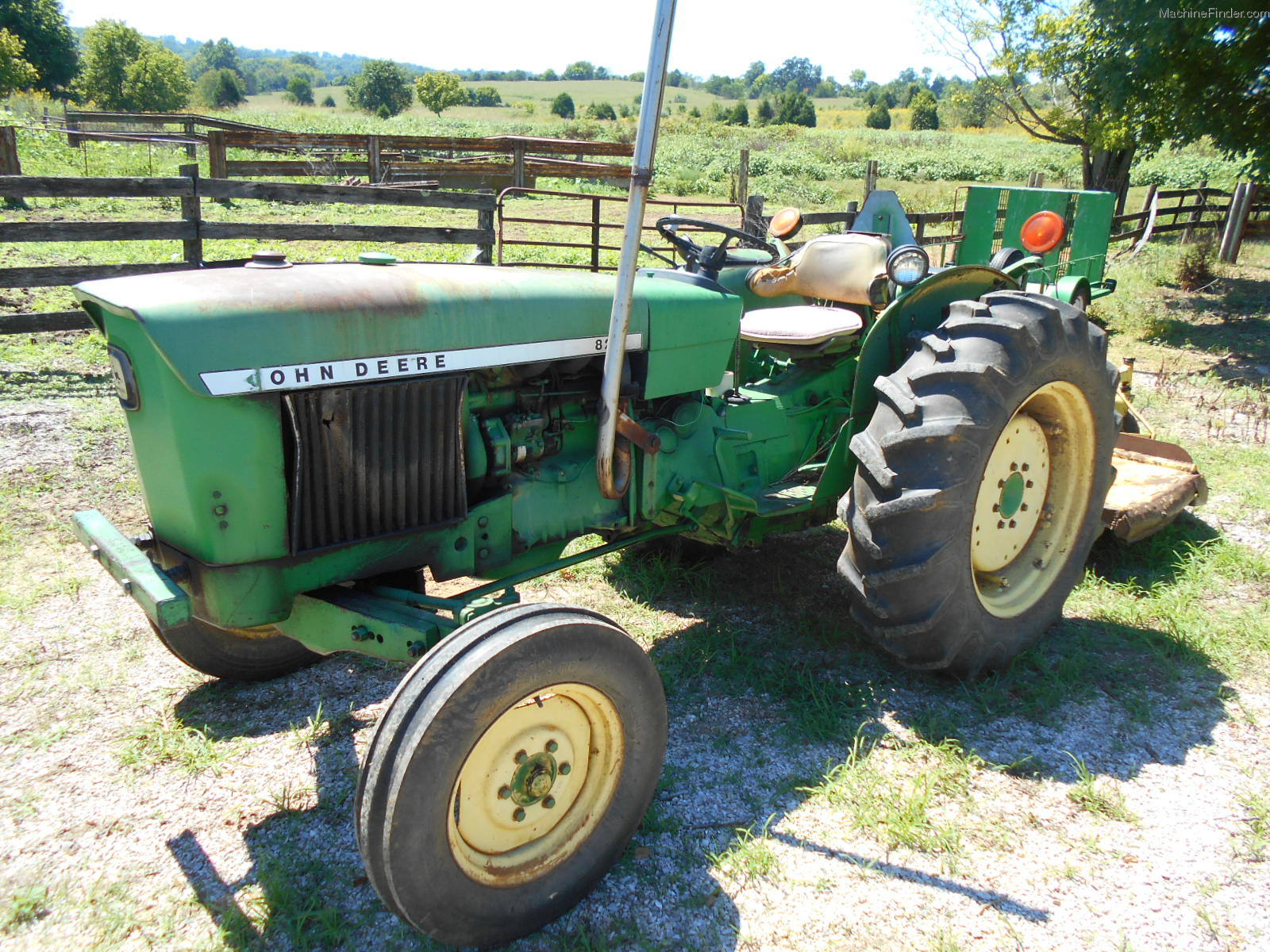 1973 john deere 820 tractors utility 40 100hp john. Black Bedroom Furniture Sets. Home Design Ideas