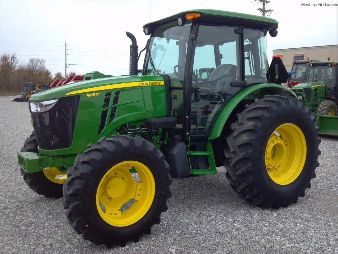 2014 John Deere 5115m Tractors Utility 40 100hp John