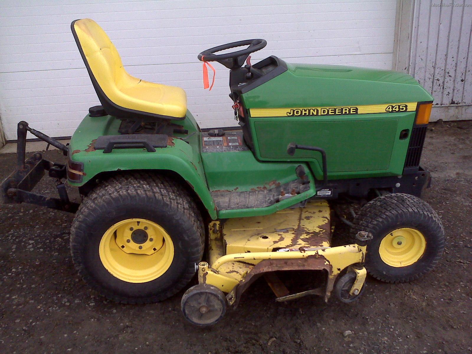 Lawn Tractor With Rear Pto : John deere rear pto car interior design