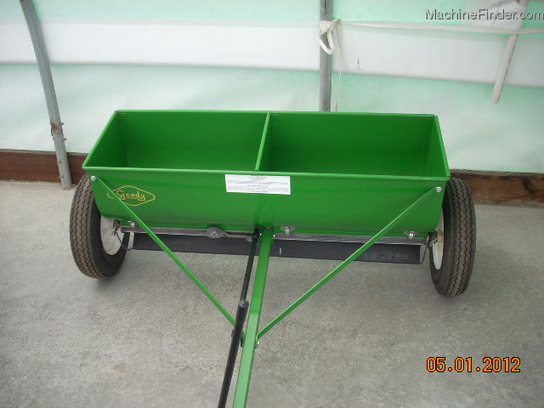 Gandy 4' HD DROP SPREADER