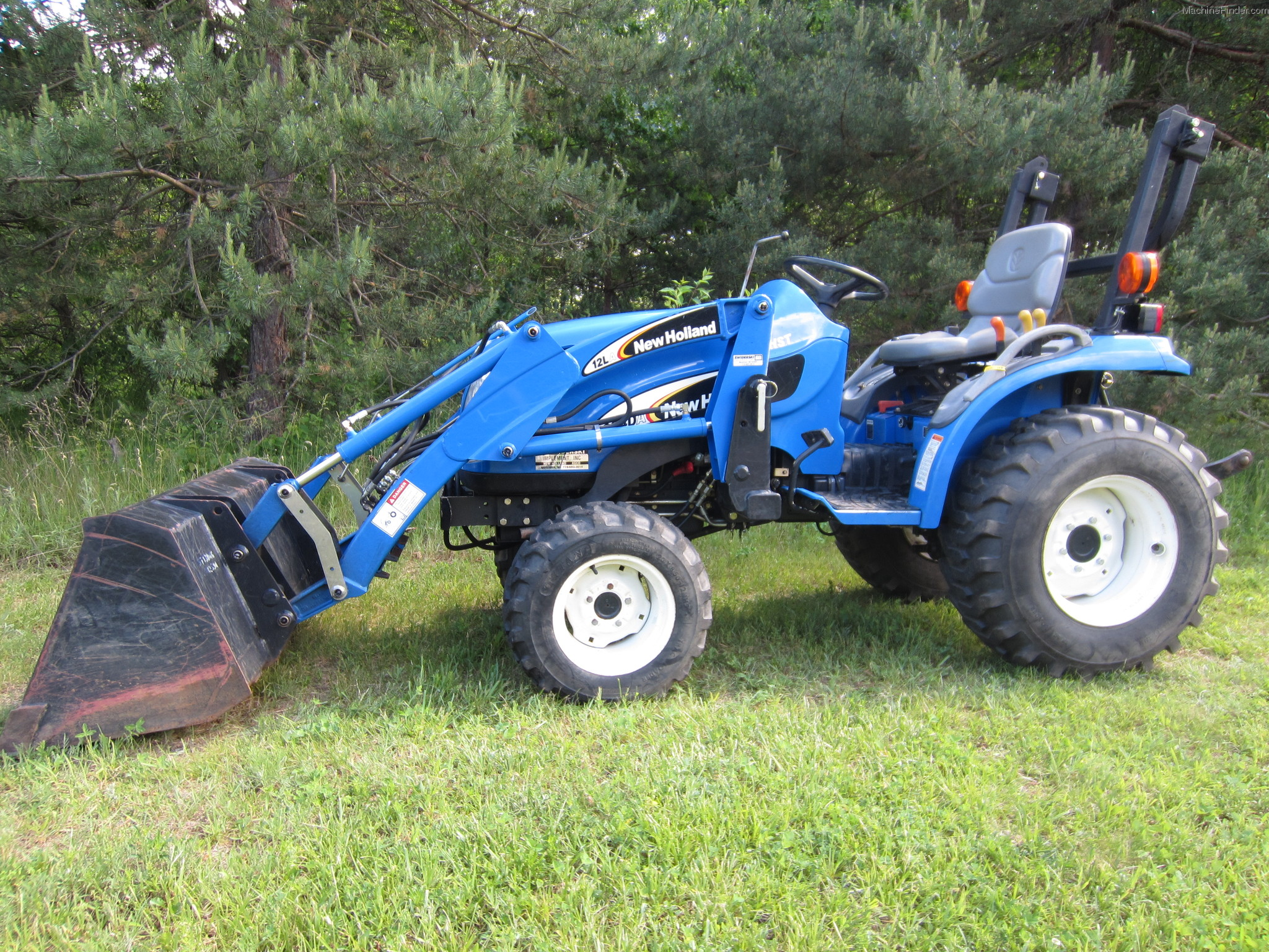 New Holland Compact Tractors Parts : New holland tc da tractors compact hp
