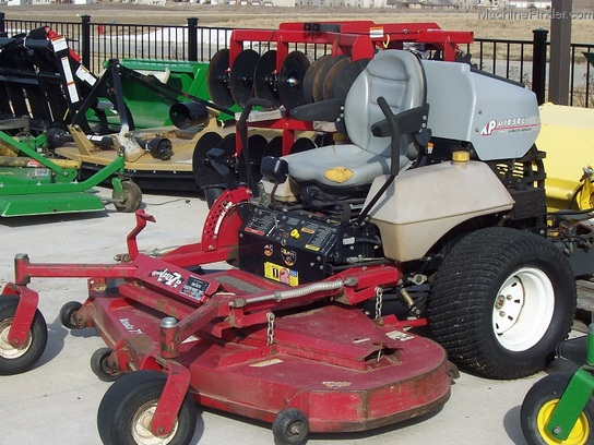 "2002 Exmark ZXP-72 Diesel-powered zero-turn mower with 72"" deck"