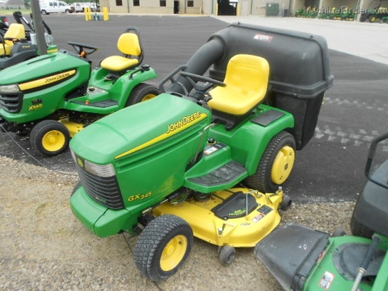 2002 John Deere GX345 Lawn & Garden and Commercial Mowing ...